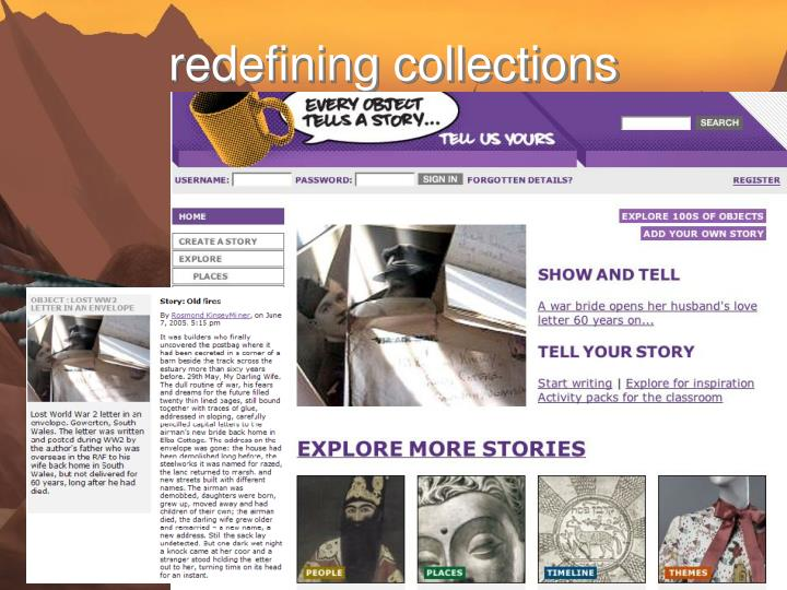 redefining collections