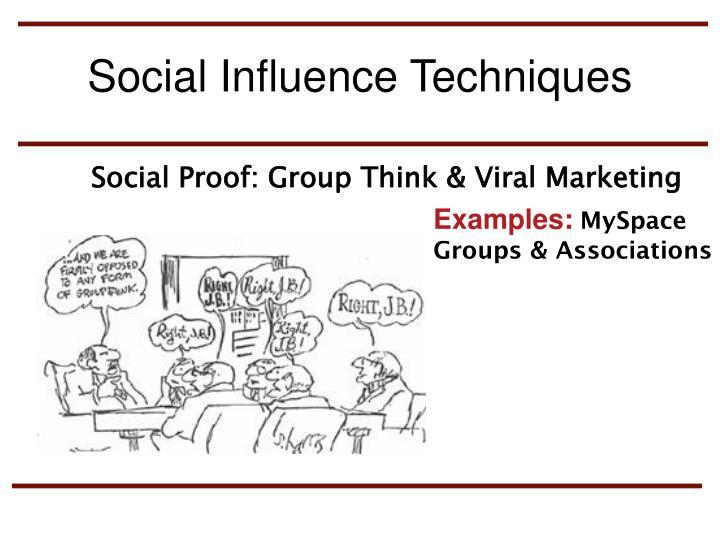 Social Influence Techniques
