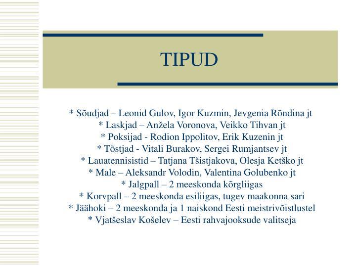TIPUD