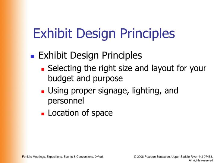 Exhibit Design Principles