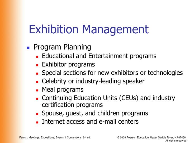 Exhibition Management