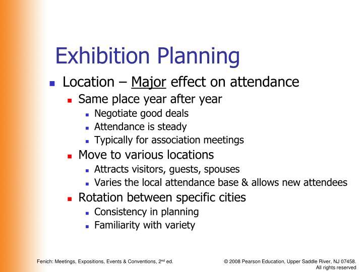 Exhibition Planning