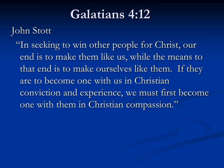 Galatians 4:12