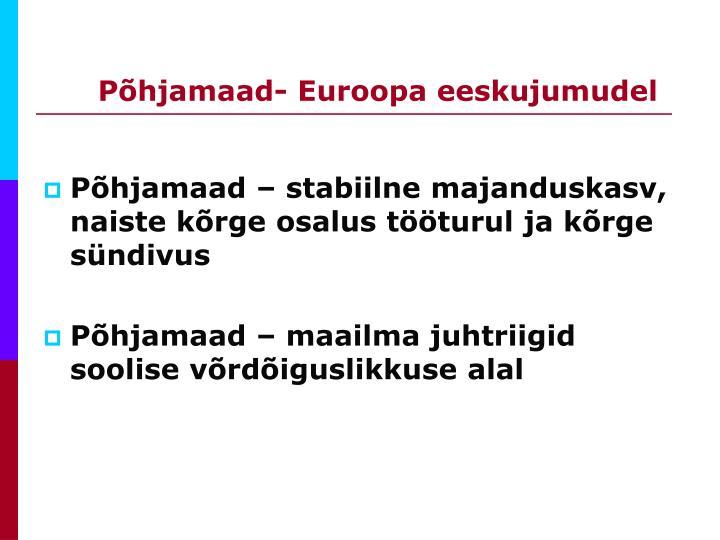 Põhjamaad- Euroopa eeskujumudel