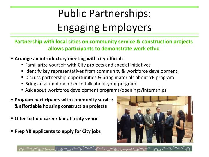 Public Partnerships: