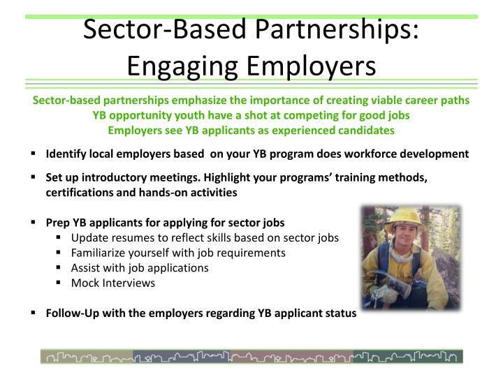 Sector-Based Partnerships: