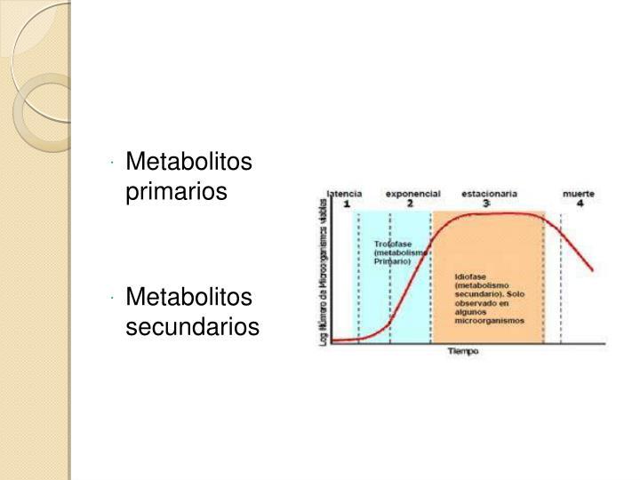 Metabolitos primarios
