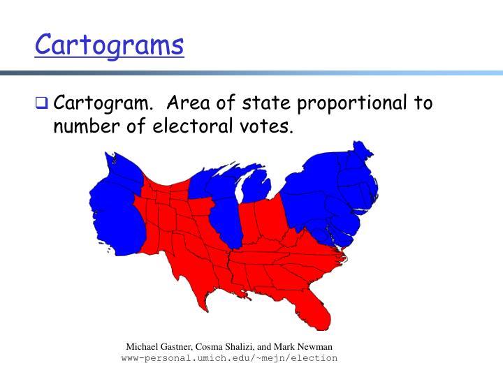 Cartograms