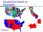 visualization based on geography