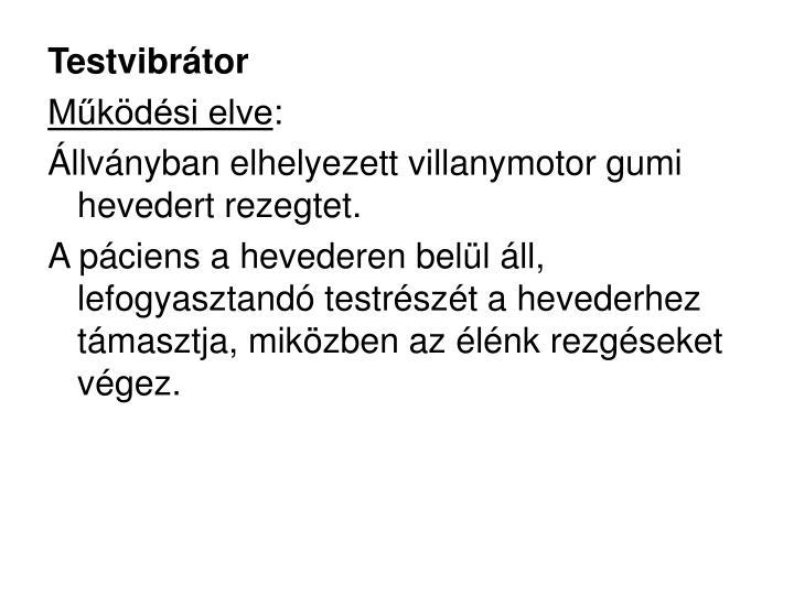 Testvibrátor