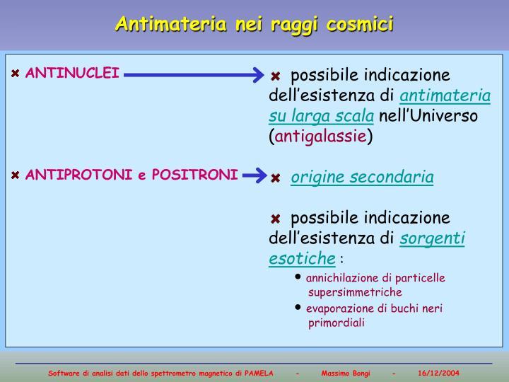 Flusso di antiprotoni