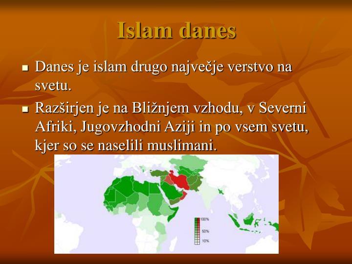 Islam danes