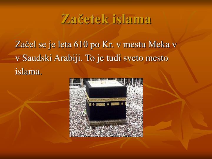 Začetek islama