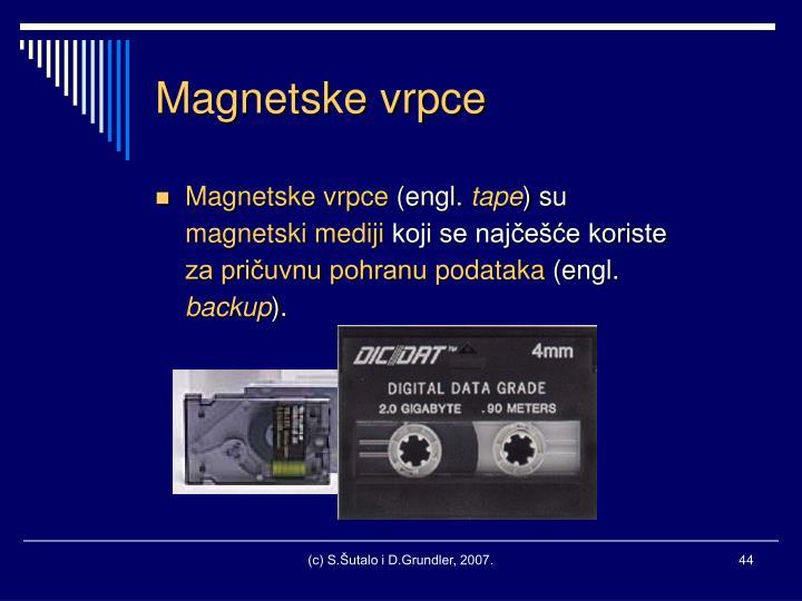 Magnetske vrpce