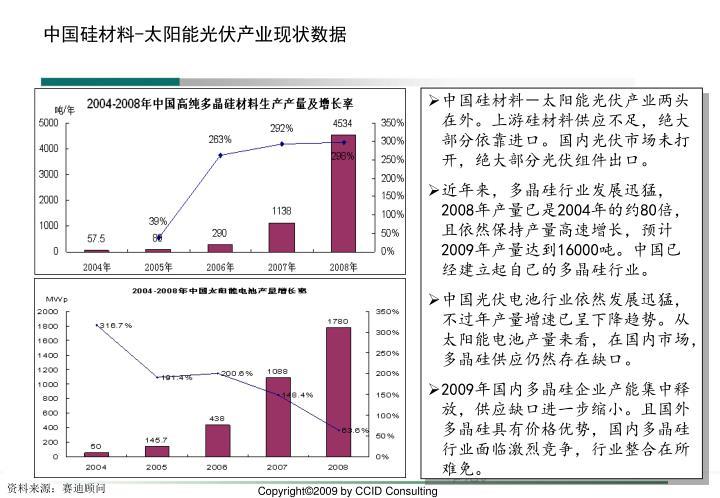 中国硅材料