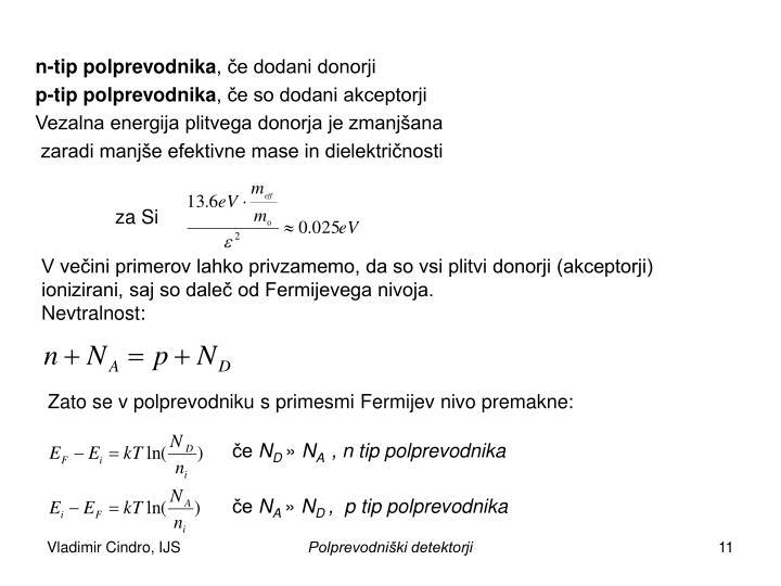 n-tip polprevodnika