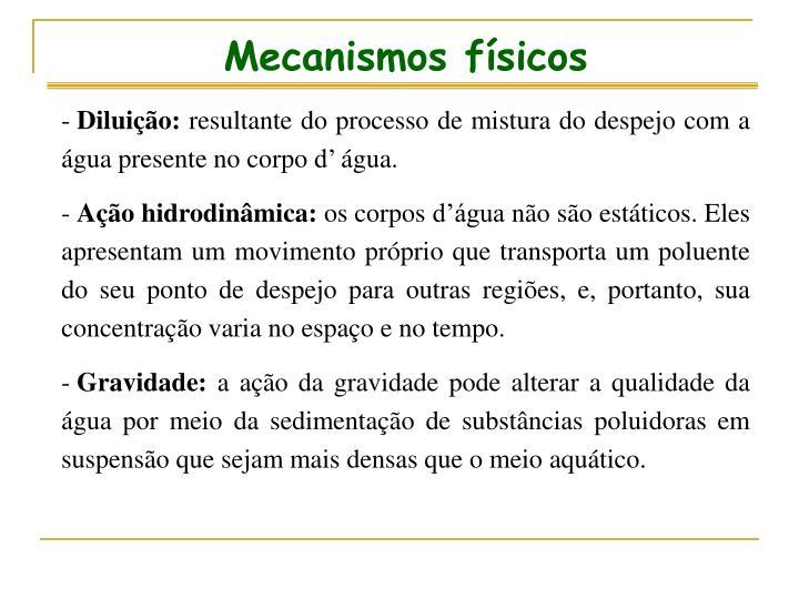 Mecanismos físicos