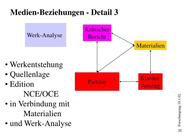 Medien-Beziehungen - Detail 3