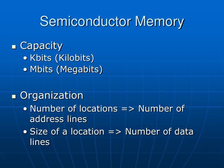 Semiconductor Memory