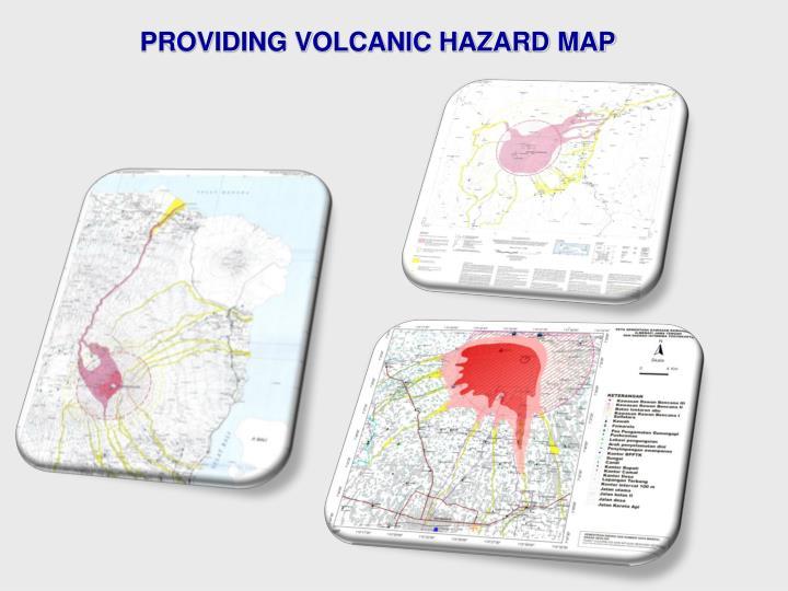 PROVIDING VOLCANIC HAZARD MAP