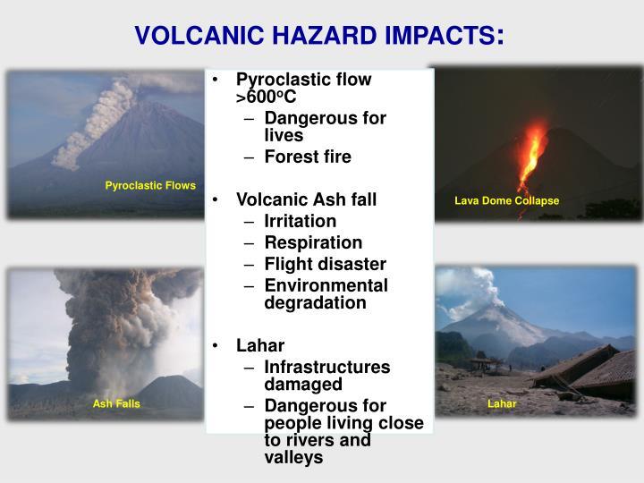 VOLCANIC HAZARD IMPACTS