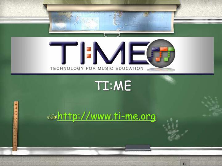 TI:ME