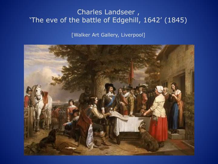 Charles Landseer ,