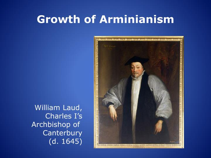 Growth of Arminianism