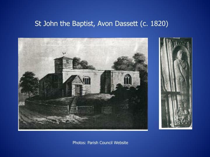 St John the Baptist, Avon Dassett (c. 1820)