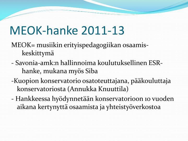 MEOK-hanke