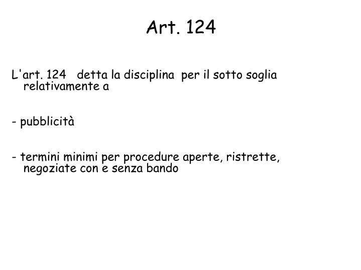 Art. 124