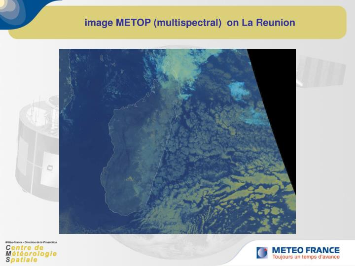 image METOP (multispectral)  on La Reunion
