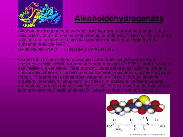 Alkoholdehydrogenáza