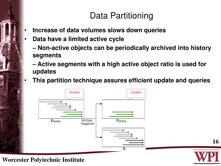 Increase of data volumes slows down queries