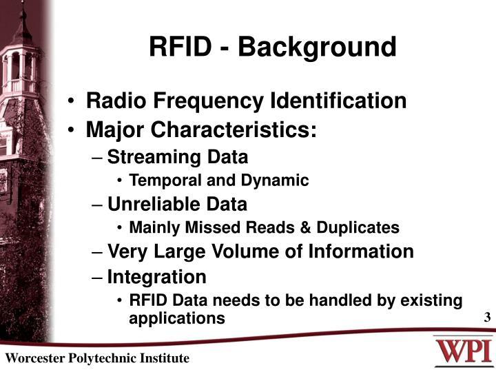 RFID - Background