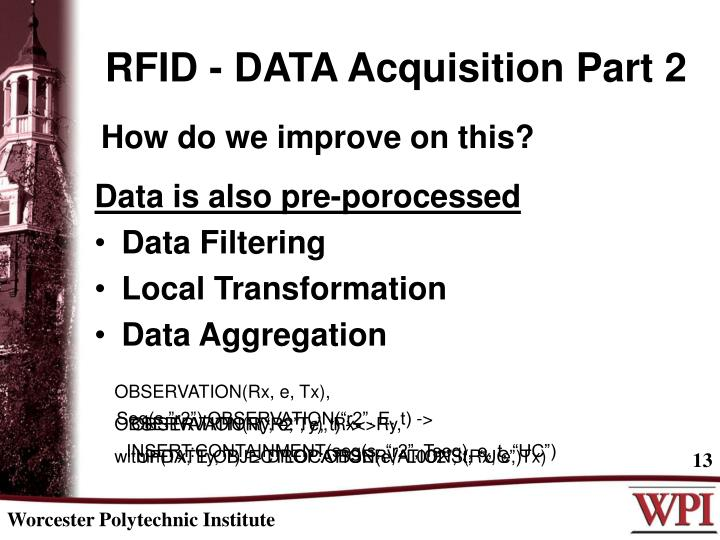 RFID - DATA Acquisition Part 2