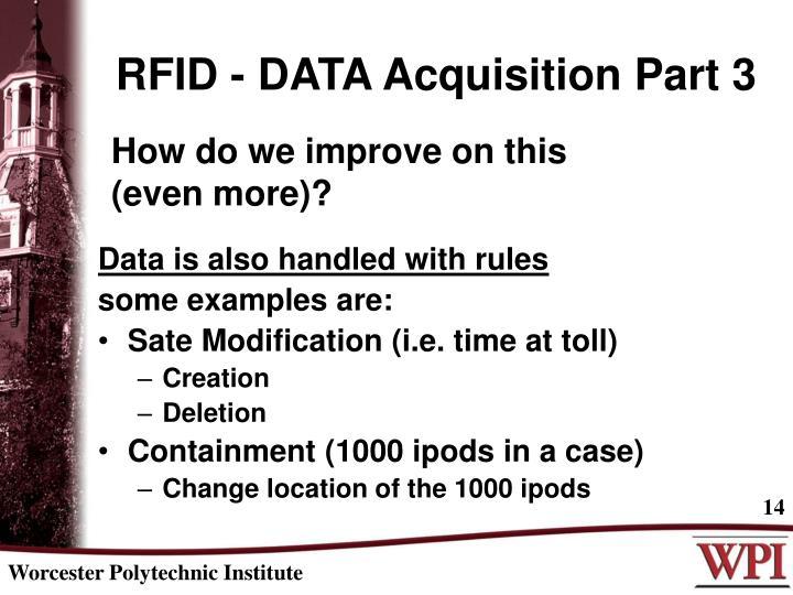RFID - DATA Acquisition Part 3