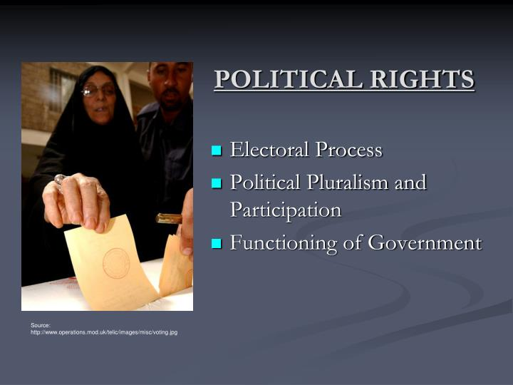 Political rights