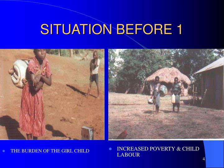 THE BURDEN OF THE GIRL CHILD