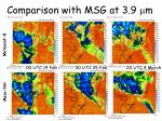 comparison with msg at 3 9 m