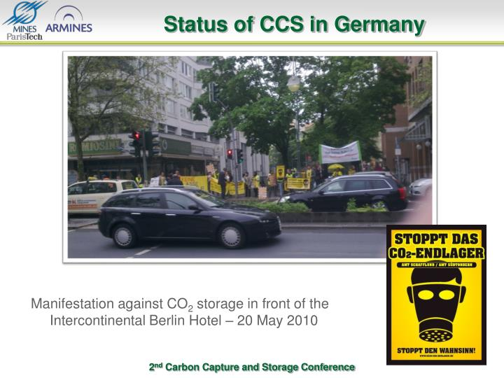 Status of CCS in Germany