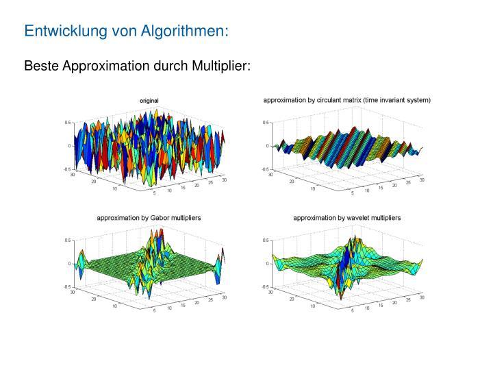 Entwicklung von Algorithmen: