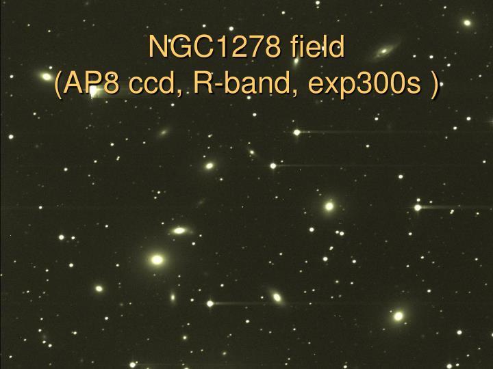 NGC1278 field