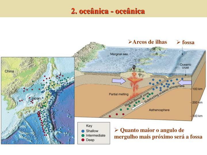 2. oceânica - oceânica