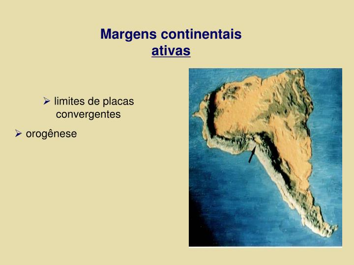 Margens continentais