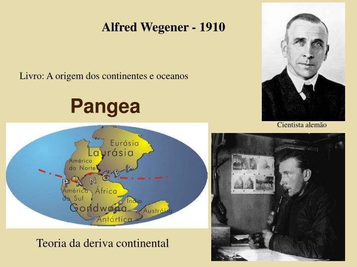 Alfred Wegener - 1910