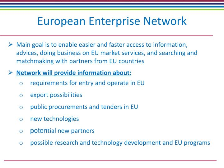 European Enterprise Network