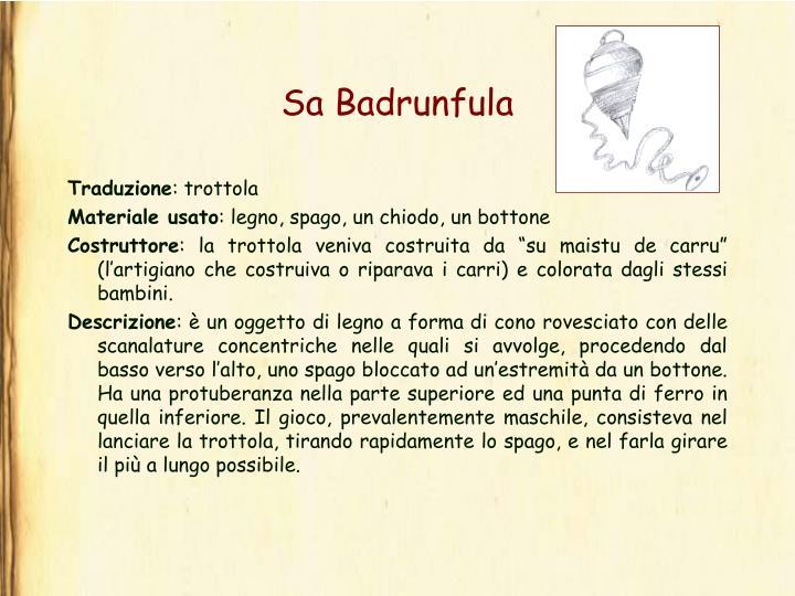 Sa Badrunfula