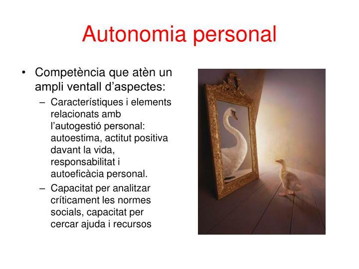 Autonomia personal