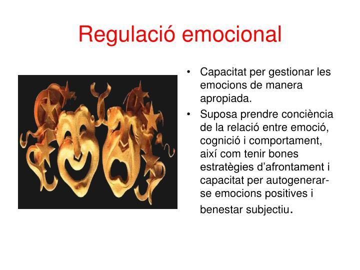 Regulació emocional